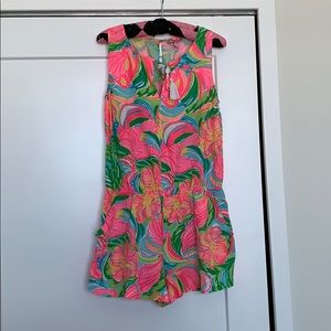 Lilly Pulitzer Pink Romper, M